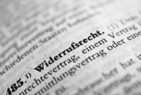 Widerrufsrecht Textform