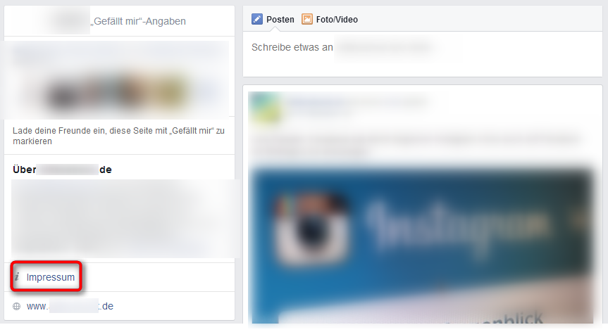 Facebook Impressum Fanpages 4