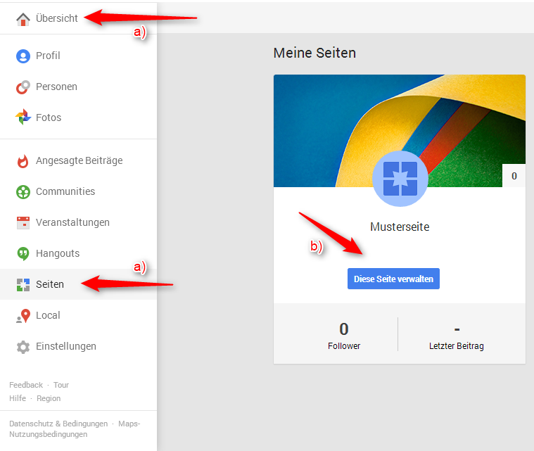 Google Plus Impressum 1