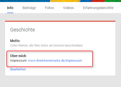 Google Plus Impressum 6