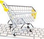 warenkorb und tastatur online shopping gina sanders fotolia com