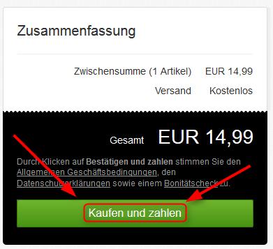 Ebay Warenkorb als Gast kaufen Buttons 03