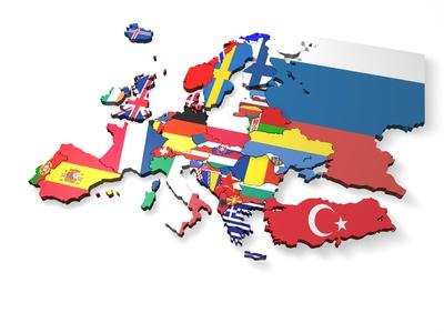 europa 3d karte steffenpi fotolia.com