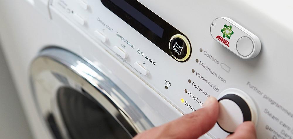 Dash Button Washing Mashine