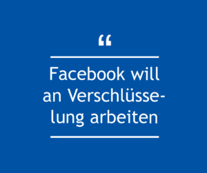 Facebook Verschlüsselung verbessern