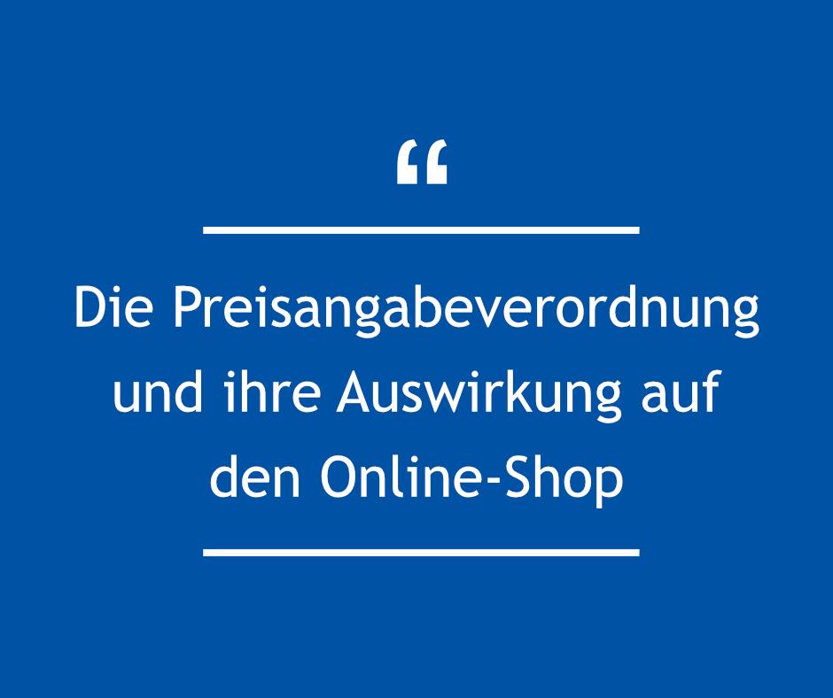 Die Die PangV und ihre Auswirkung auf den Online-Shop